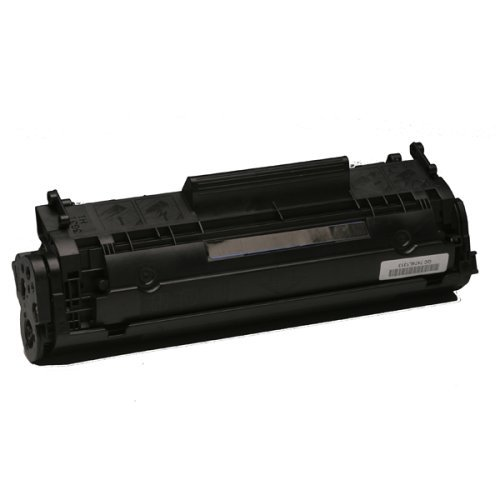 Black MICR Toner Cartridge compatible with the HP (MICR) Q2612A
