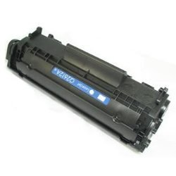 Black Toner Cartridge compatible with the HP (HP12X) Q2612X